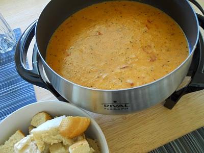 Family & Food Fridays: Golden Pizza Fondue