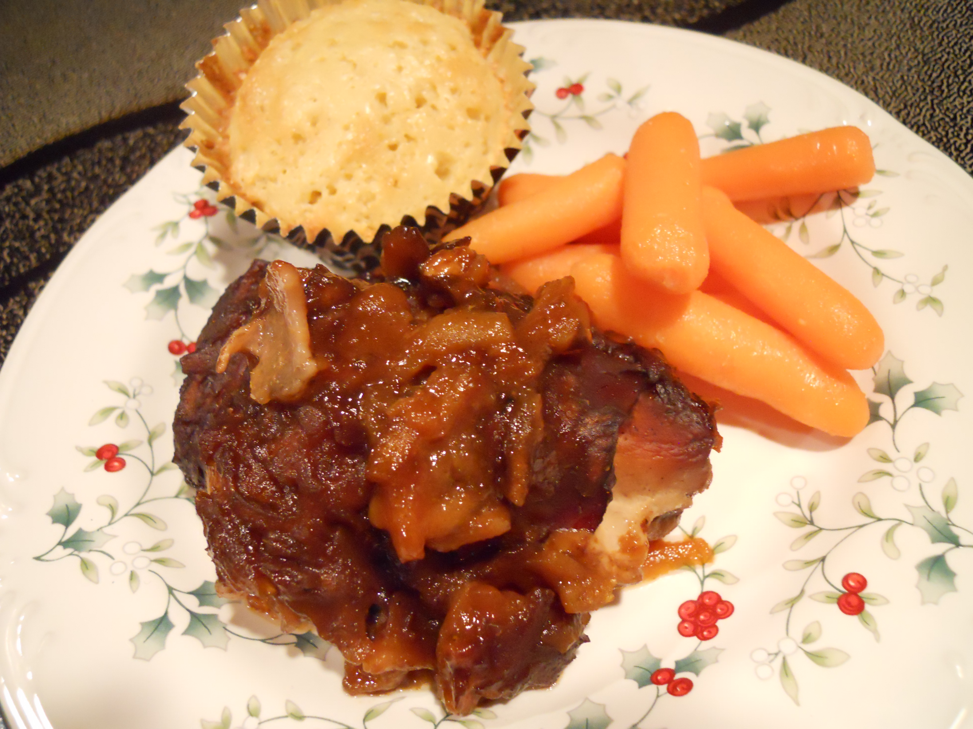 BBQ Bacon Apple Chicken in the Slow Cooker   Kate's Recipe Box