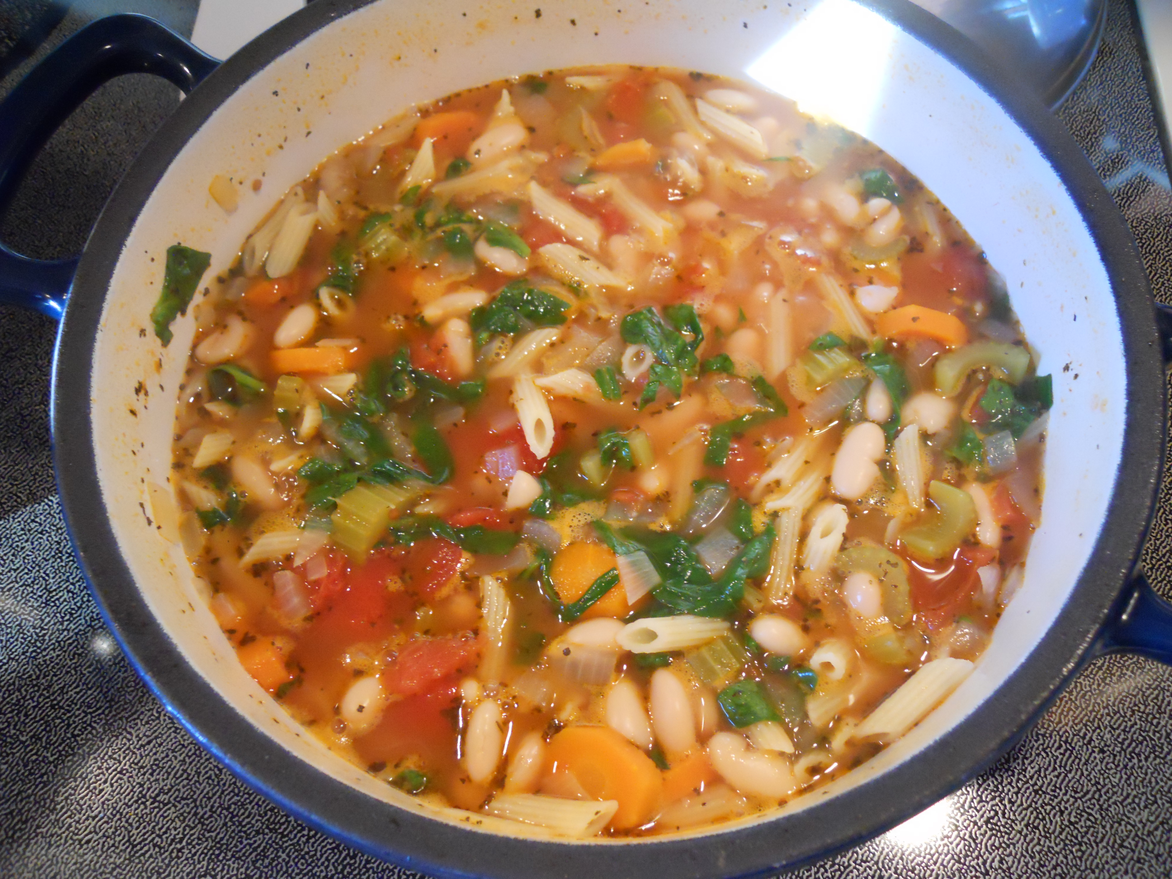 Pasta and Bean Soup | Kate's Recipe Box