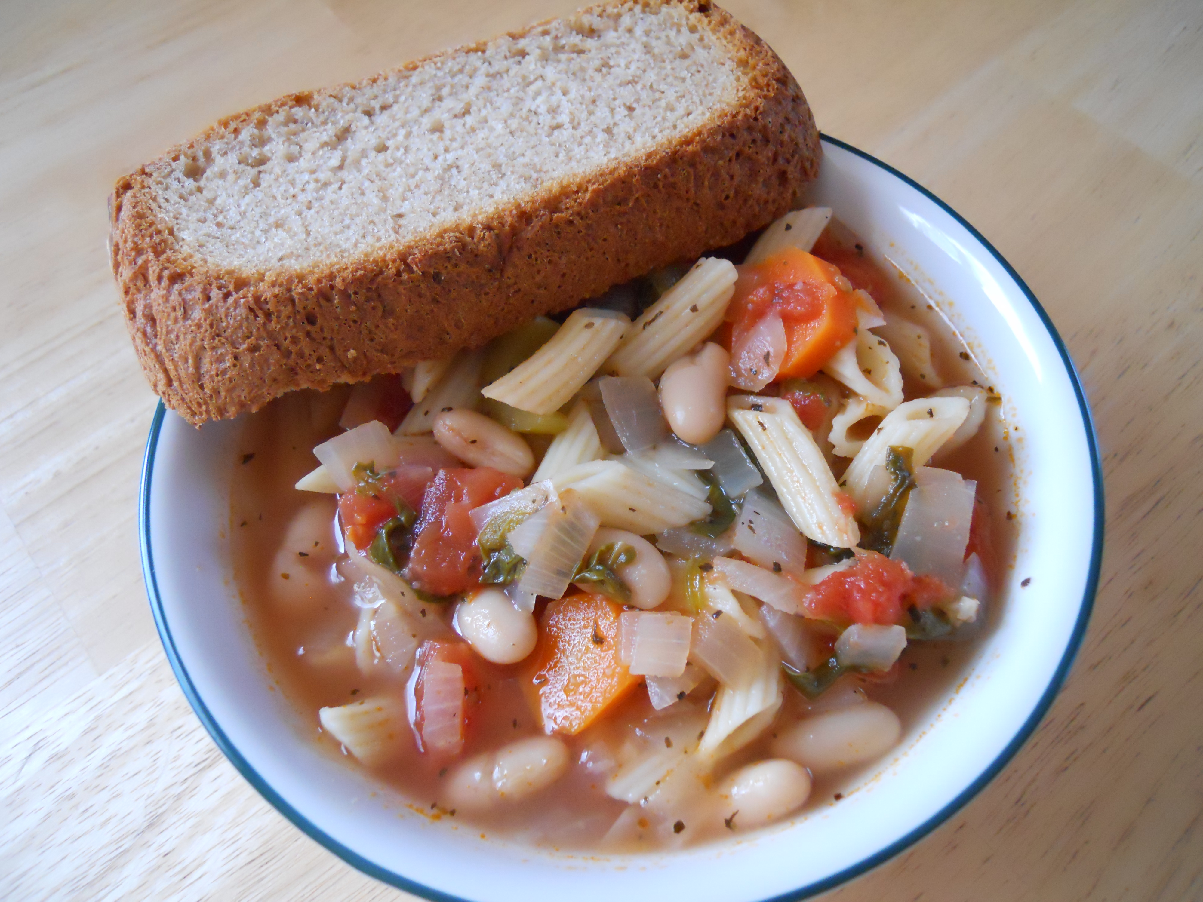 Bean and Pasta Soup 2