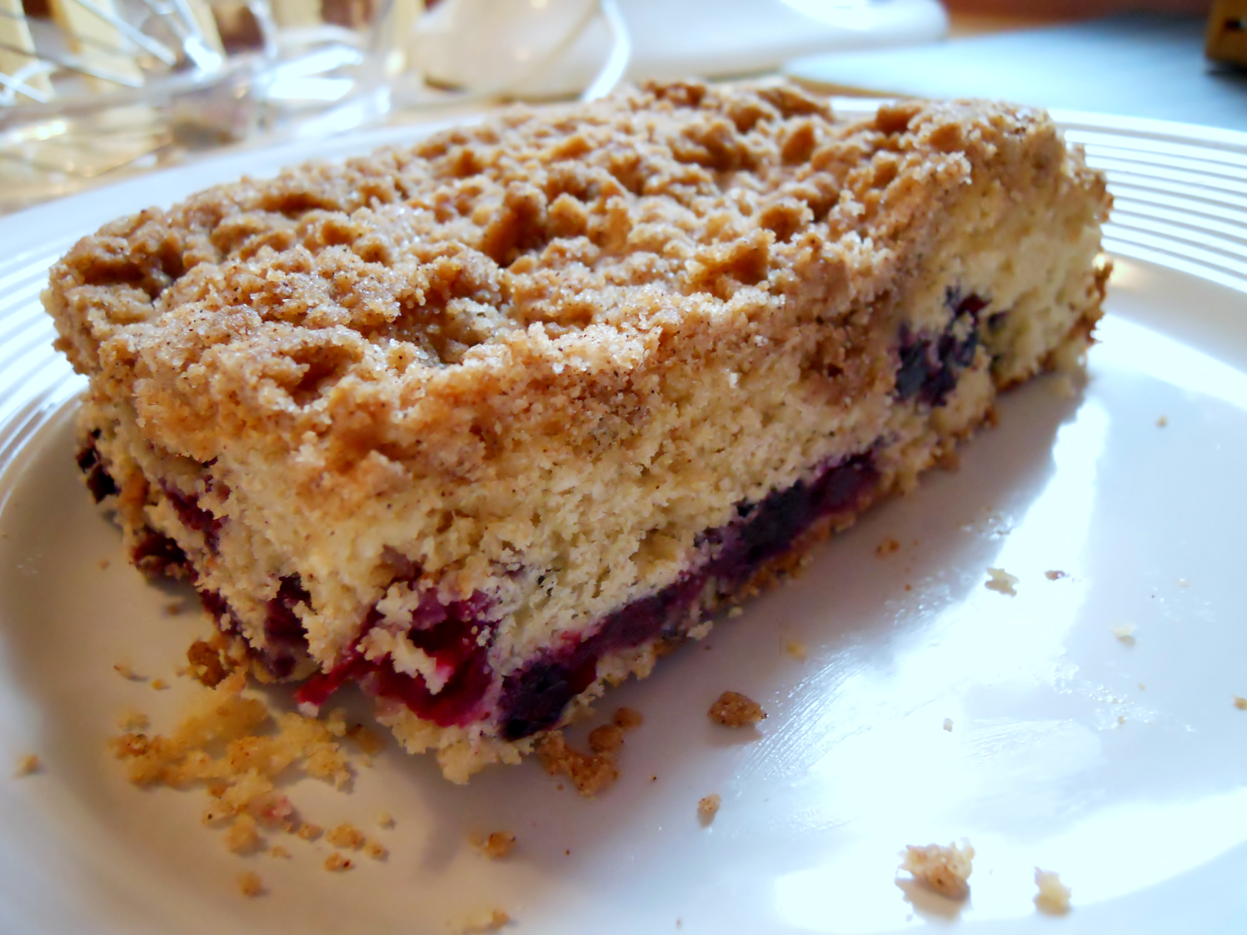 Blueberry Buckle | Kate's Recipe Box