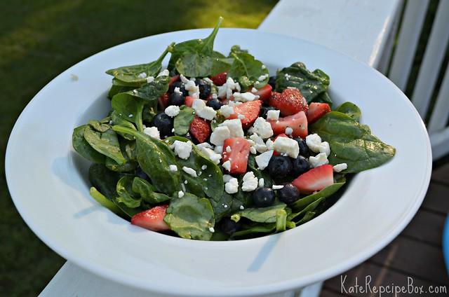 Red White Blue Salad