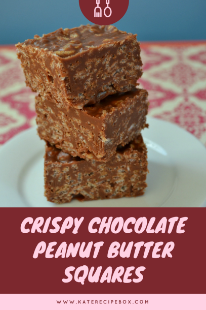 Crispy Chocolate Peanut Butter Squares