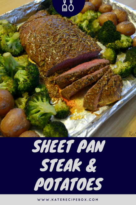 Sheet Pan Steak & Potatoes