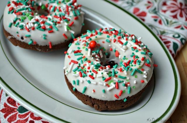 Chocolate Hazelnut Doughnuts 3