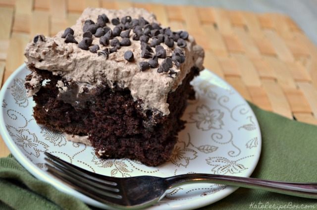 chocolate poke cake 1