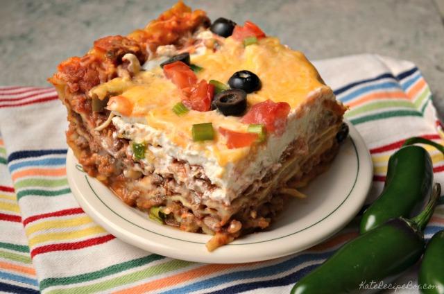 Mexican Lasagna 2