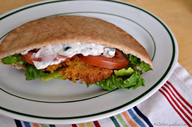 Greek Quinoa Pita Pockets 2