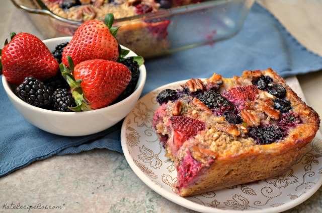 Berry Baked Oatmeal 2