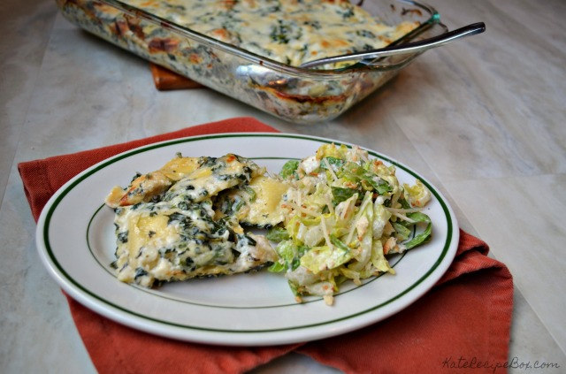 Spinach and Artichoke Ravioli 2