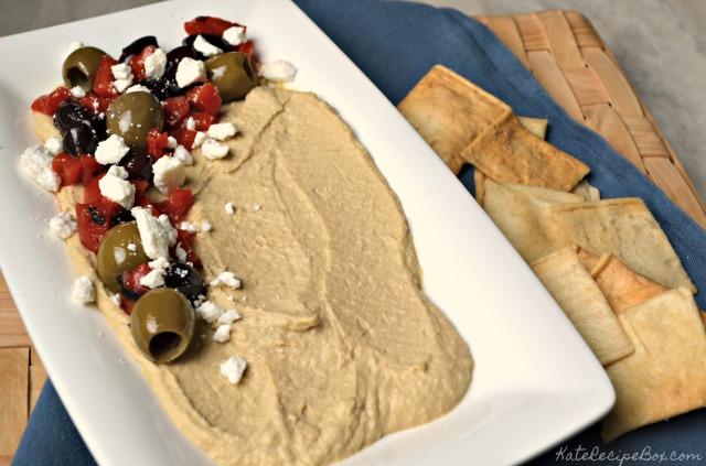 Loaded Hummus 1