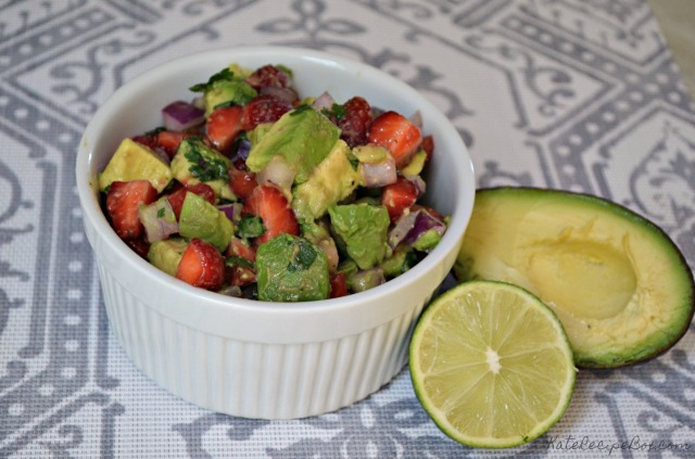 Strawberry Avocado Salsa 2