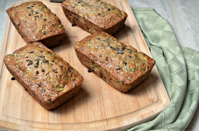 Chocolate Chip Pecan Zucchini Bread 1