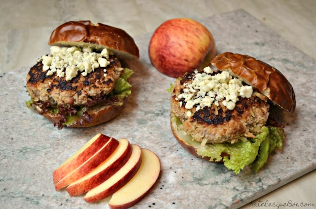 Pork and Apple Burgers 2